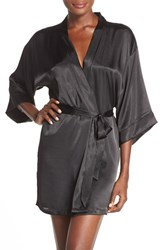 Women's In Bloom By Jonquil Satin Robe Nordstrom Exclusive