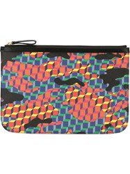 Pierre Hardy Printed Pouch Black