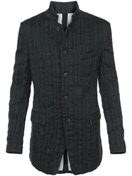 Forme D'expression Longsleeved Buttoned Up Jacket Grey
