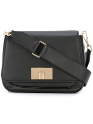 Marc Jacobs Navigator Saddle Crossbody Bag Black