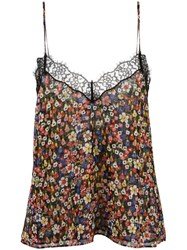The Kooples Floral Print Camisole Top