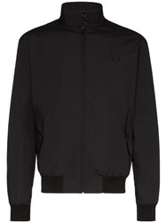 Fred Perry Harrington Bomber Jacket Black