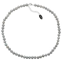 Finesse Freshwater Pearl Necklace Grey