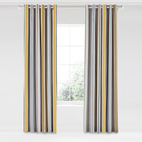 Scion Lintu Lined Curtains Dandelion And Pebble 168X229cm