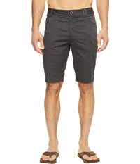 Nau Stretch Motil Five Pocket Shorts Caviar Heather Men's Shorts Black