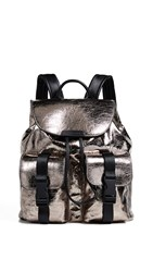 Kendall Kylie Lex Large Backpack Chrome