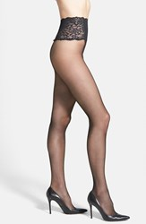 Commando Women's The Sexy Sheer Pantyhose Black