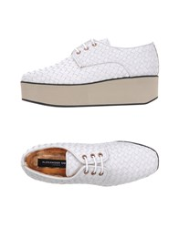 Alexander Smith Lace Up Shoes White