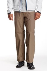 The North Face Horizon Ii Convertible Pant Brown
