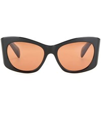 Oliver Peoples The Row Bother Me Cat Eye Sunglasses Black