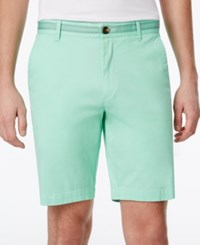 Club Room Men's Stretch Flat Front Shorts Only At Macy's Neptune Beso