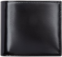 Thom Browne Black Patent Leather Wallet