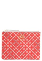 By Malene Birger Dipp Clutch Red Rose