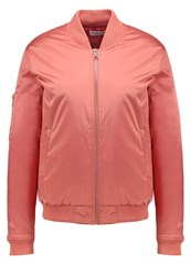 Soaked In Luxury Lilja Bomber Jacket Brick Dust Rose