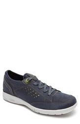 Rockport Men's Truflex Sneaker New Dress Blues Nubuck