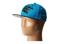 New Era Nfl Two Tone Team Carolina Panthers Bright Blue Baseball Caps