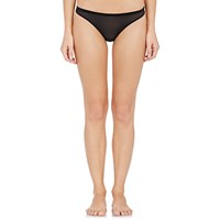 Land Of Women Mesh Thong Black