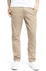 Men's Globe 'Dover' Slouchy Slim Fit Pants Stone
