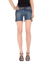 Jacob Cohen Jacob Coh N Denim Denim Shorts Women Blue