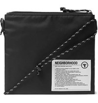Neighborhood Sacoche Nylon Messenger Bag Black