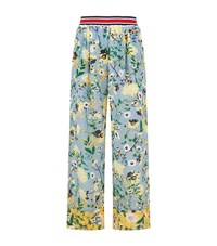 Tommy Hilfiger Patchwork Floral Trousers Female Multi