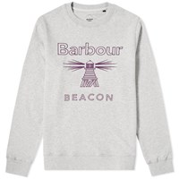 Barbour Beacon Stitch Crew Sweat Grey