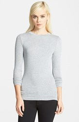 Trouve Women's Trouve Layering Tee Grey Heather