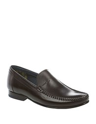 Ted Baker Simeen 2 Leather Moccasins Black Leather