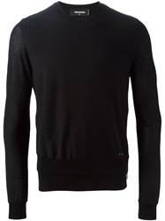 Dsquared2 Side Zip Sweater Black