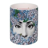 Fornasetti Ortensia Scented Candle Blue