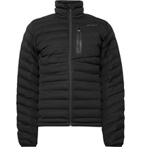 2Xu Pursuit Slim Fit Quilted Shell Jacket Black