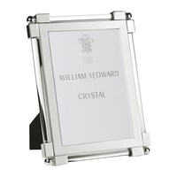 William Yeoward Classic Clear Glass Photo Frame 5X7 Silver