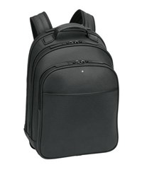 Montblanc Extreme Rucksack Leather Backpack Black