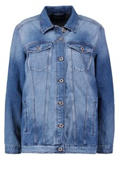 Only Onleva Denim Jacket Medium Blue Blue Denim