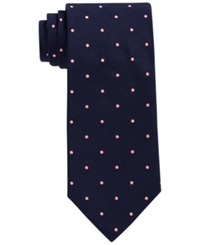 Brooks Brothers Repp Dot Tie Pink