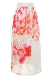 Coast Beaumont Bloom Full Skirt Coral