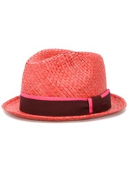 Paul Smith Woven Hat Red