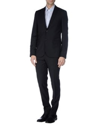 Royal Hem Suits Black