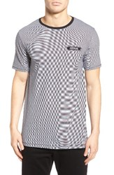 Zanerobe Men's Flintock Longline Stripe T Shirt
