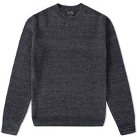 A.P.C. Murrow Crew Knit Blue