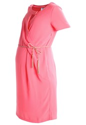 Mamalicious Mlannalee Summer Dress Sunkist Coral