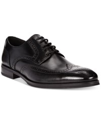 Alfani Men's Platinum Miller Wing Tip Derbys Men's Shoes Black