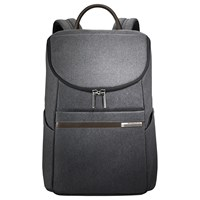Briggs And Riley Kinzie Small Frame Wide Mouth Backpack Grey