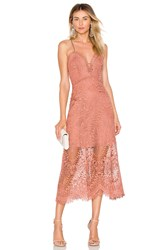 Marissa Webb Dillon Dress Rose