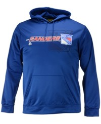 Majestic Men's New York Rangers Let Loose Synthetic Hoodie Blue