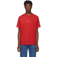 Levi's Levis Red Relaxed Logo T Shirt