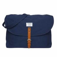 Sandqvist Jack Ground Blue Messenger Bag