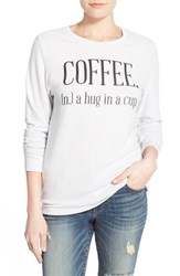 Women's Signorelli 'Yummy Fleece' Graphic Sweatshirt