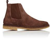 Barneys New York Men's Chelsea Boots Brown