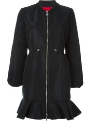 Moncler Gamme Rouge 'Crocus' Coat Black